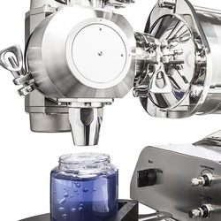 Pneumatic valves for dense products
