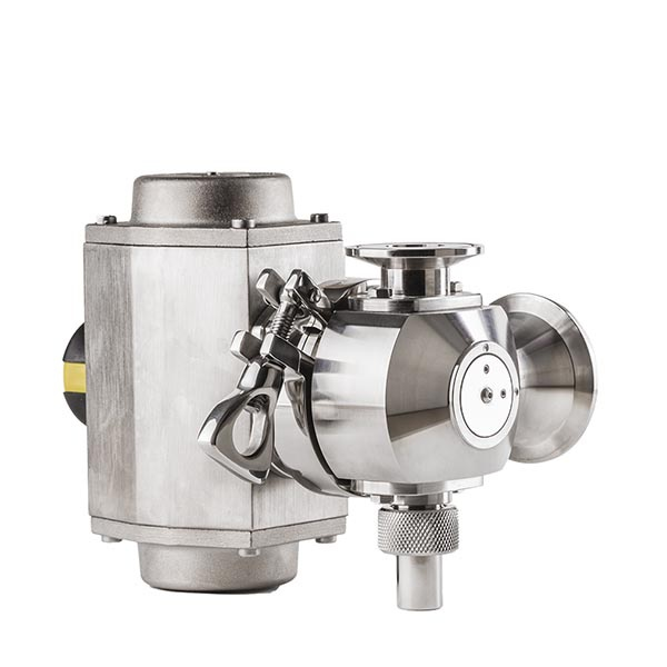 Valve for 25 DN dense products