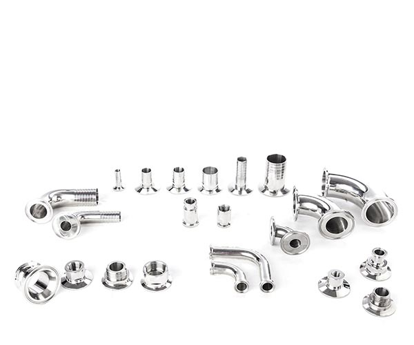 Wide range of fittings available