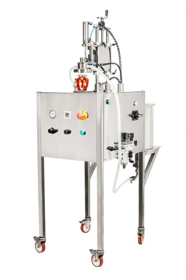 Overflow filling machine