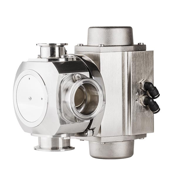 Valve for 50 DN dense products