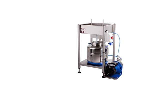 Semi automatic bottle rinser