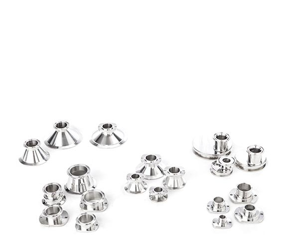 Our fittings are made of stainless steel AISI 304 and 316