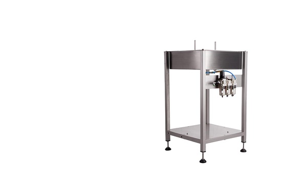 Semi Automatic Air Rinsing Machine