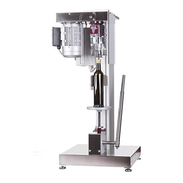 Lever capping machine